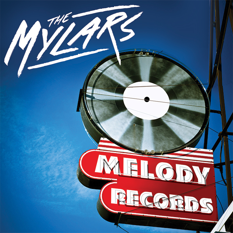 The Mylars - Melody Records - Album Cover