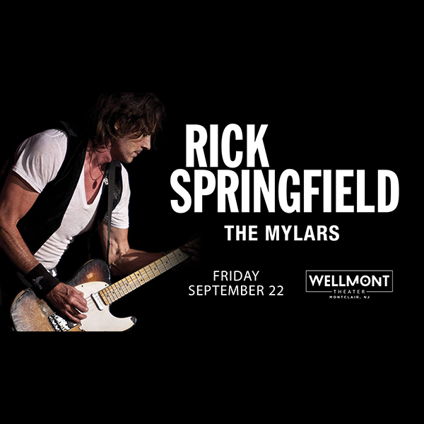 The Mylars Supporting Rick Springfield at the Wellmont Theatre